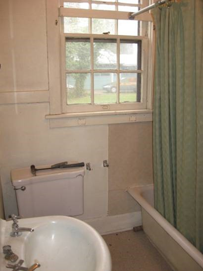 Bathroom Before the Remodel