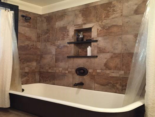 Bathroom Remodel Review After Job Completed