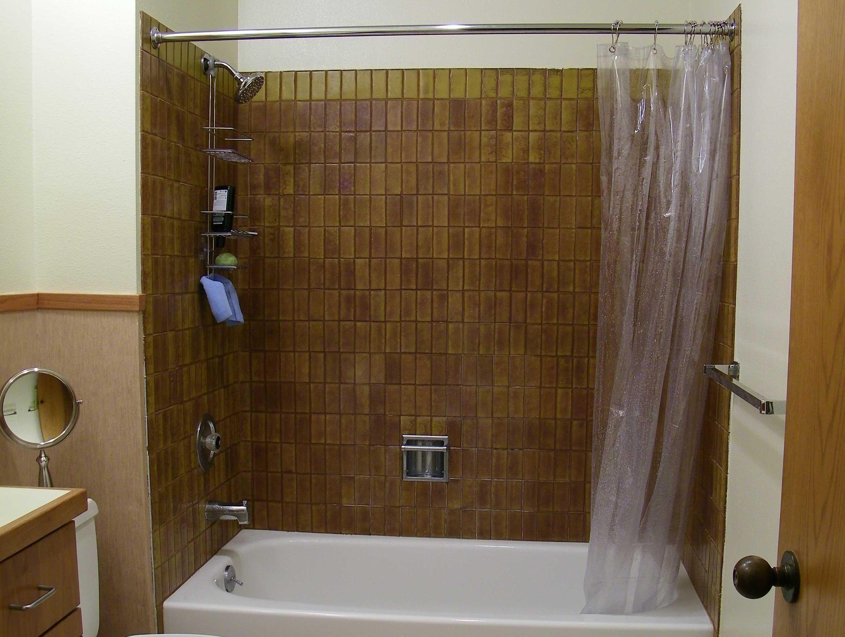 Shower before remodel