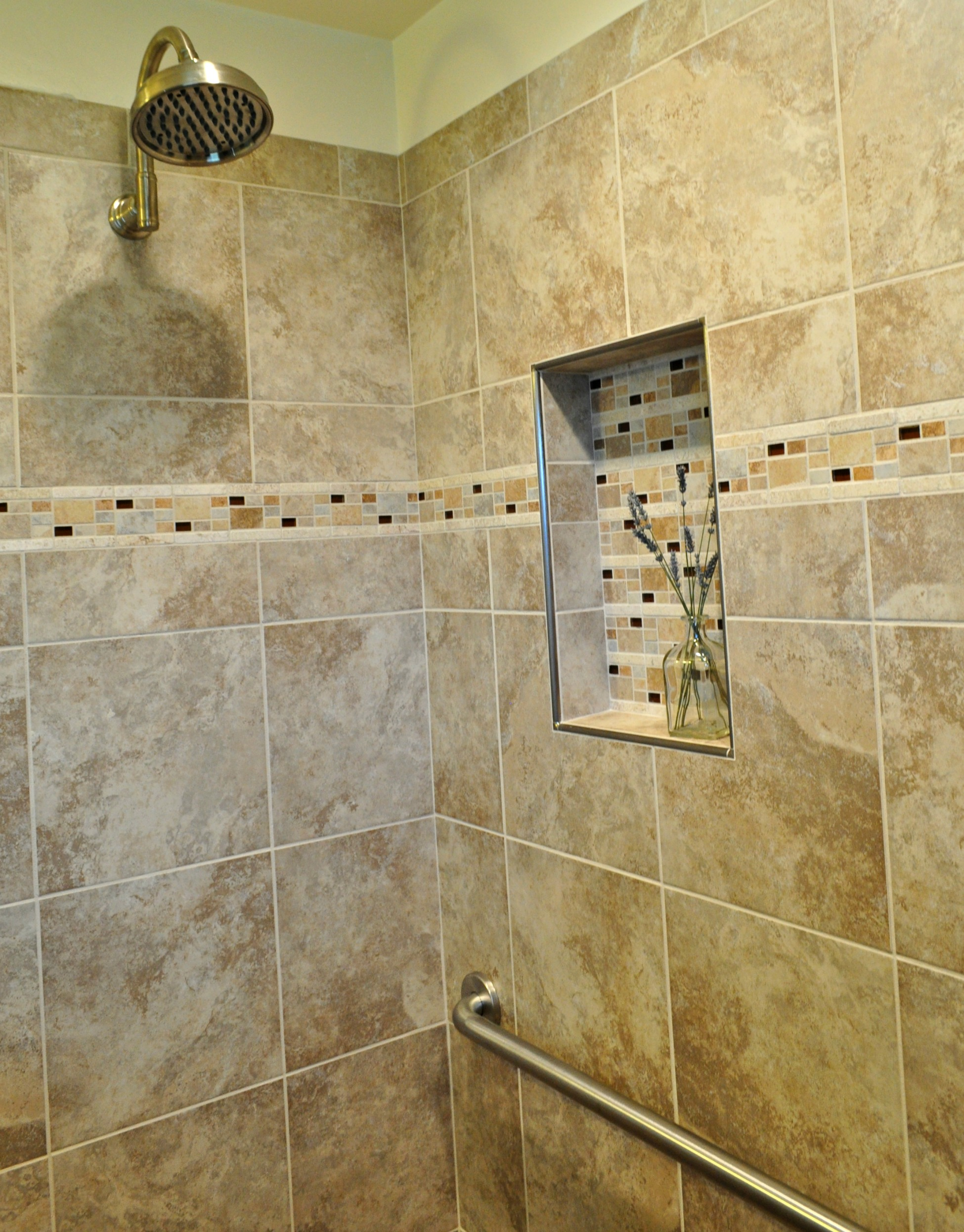 Remodeled Shower in Springfield