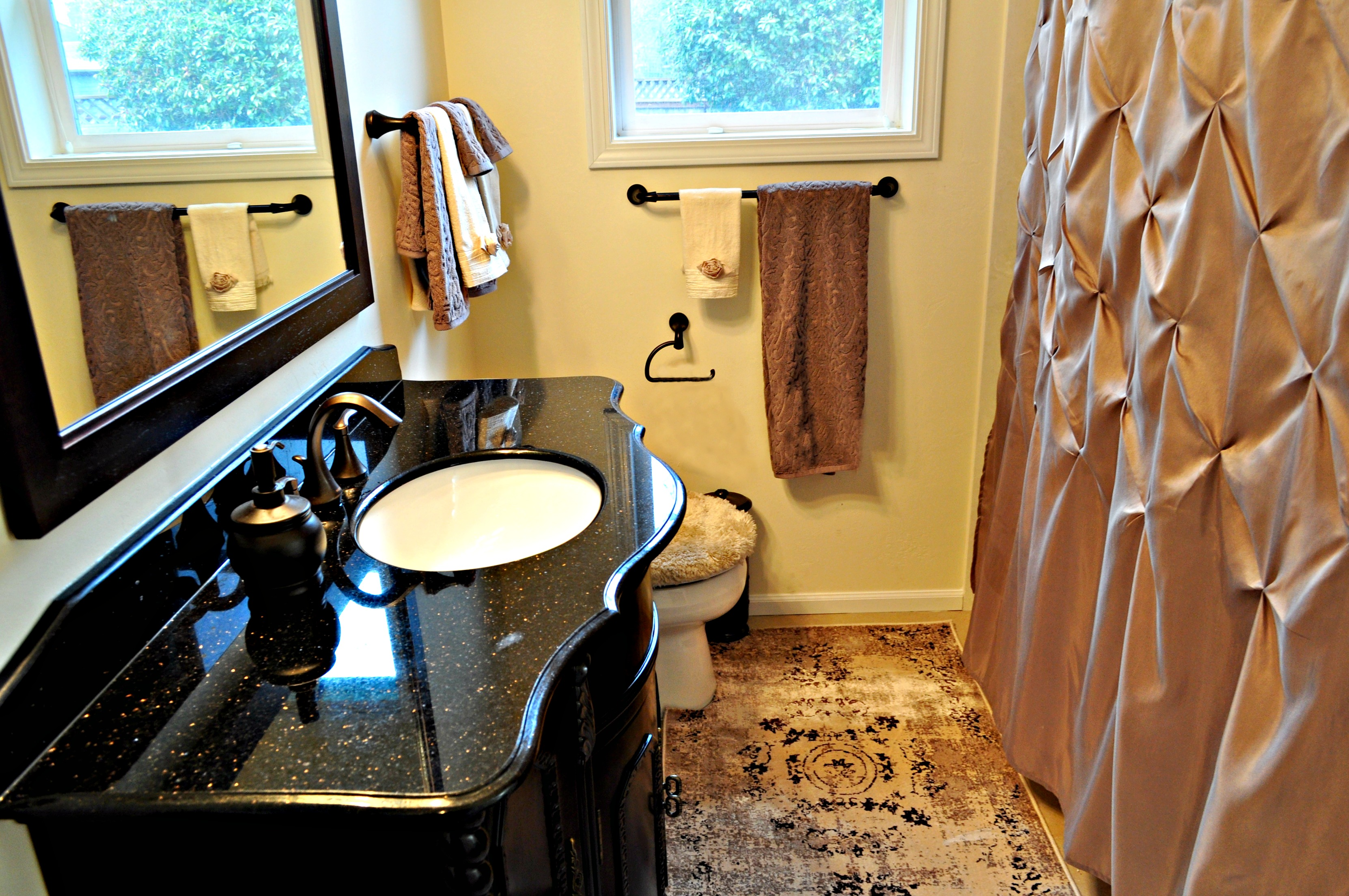 Finished Victorian Style Bathroom