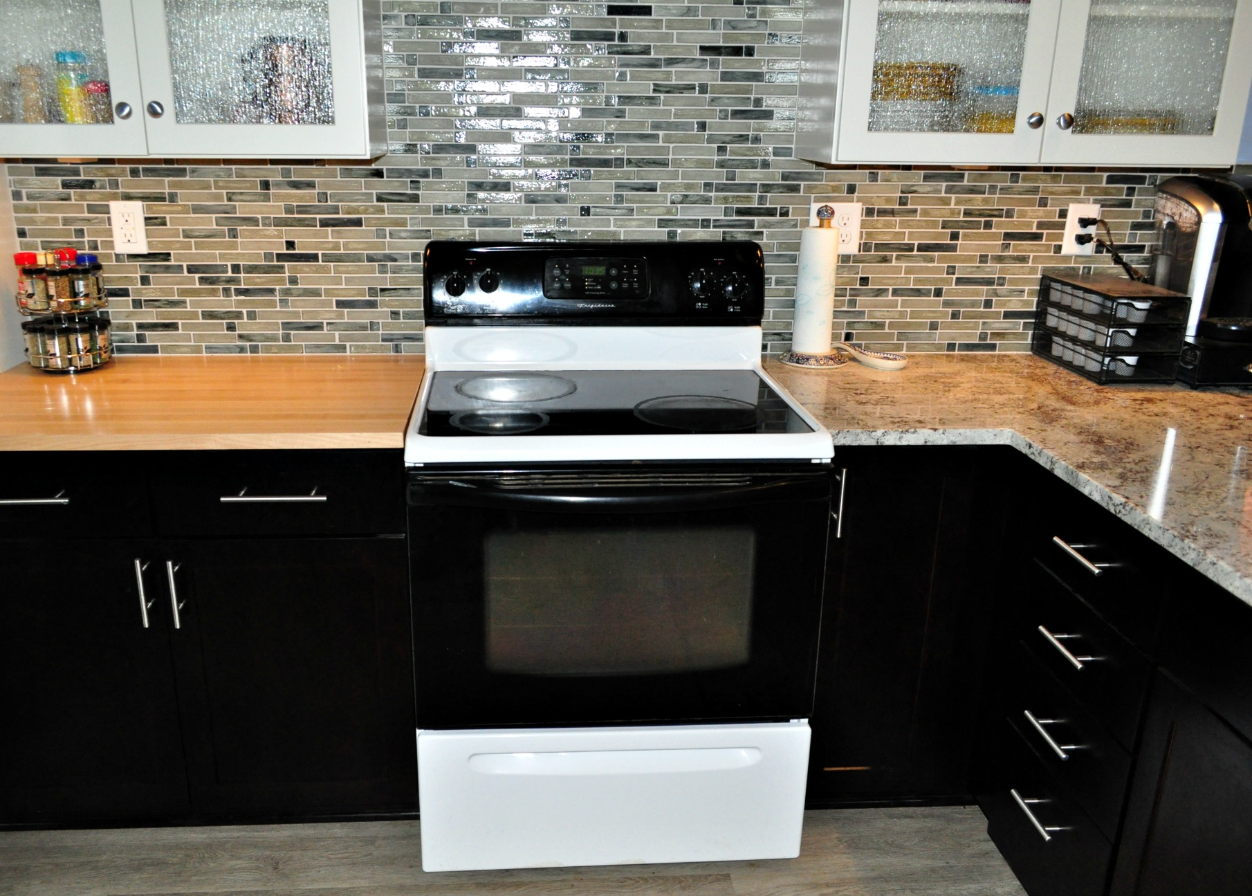 New Range from Remodeling Contractor
