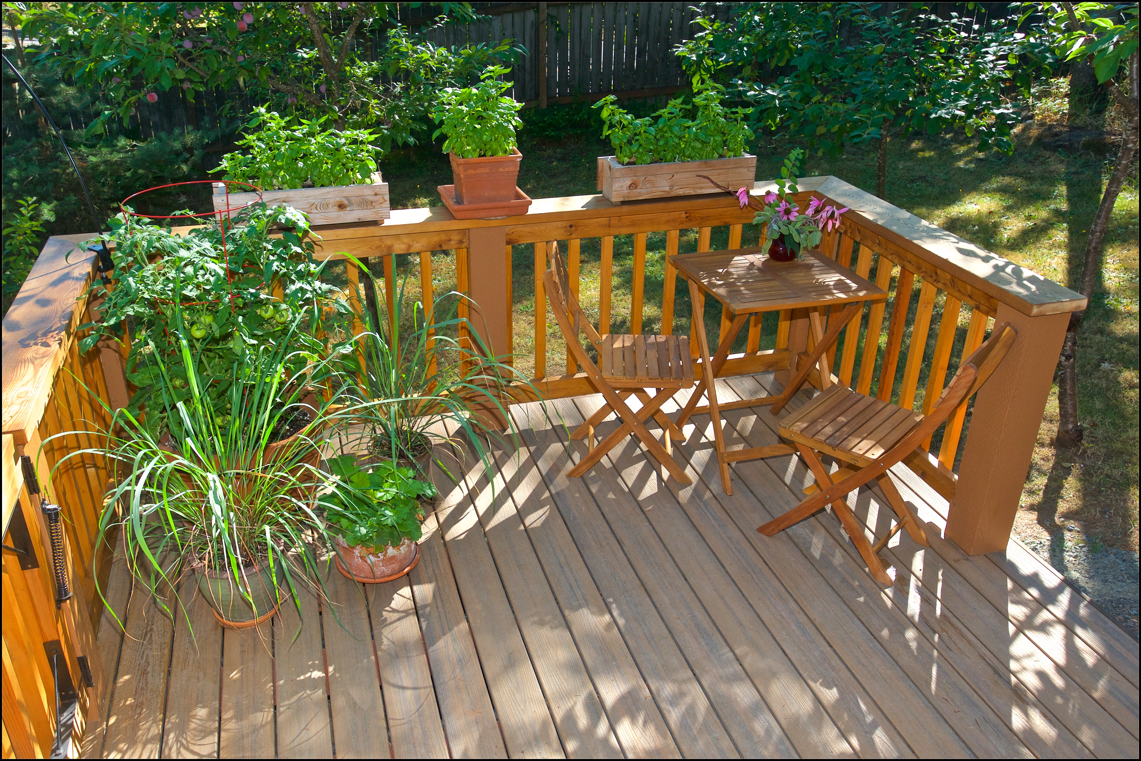 Top View of New Deck