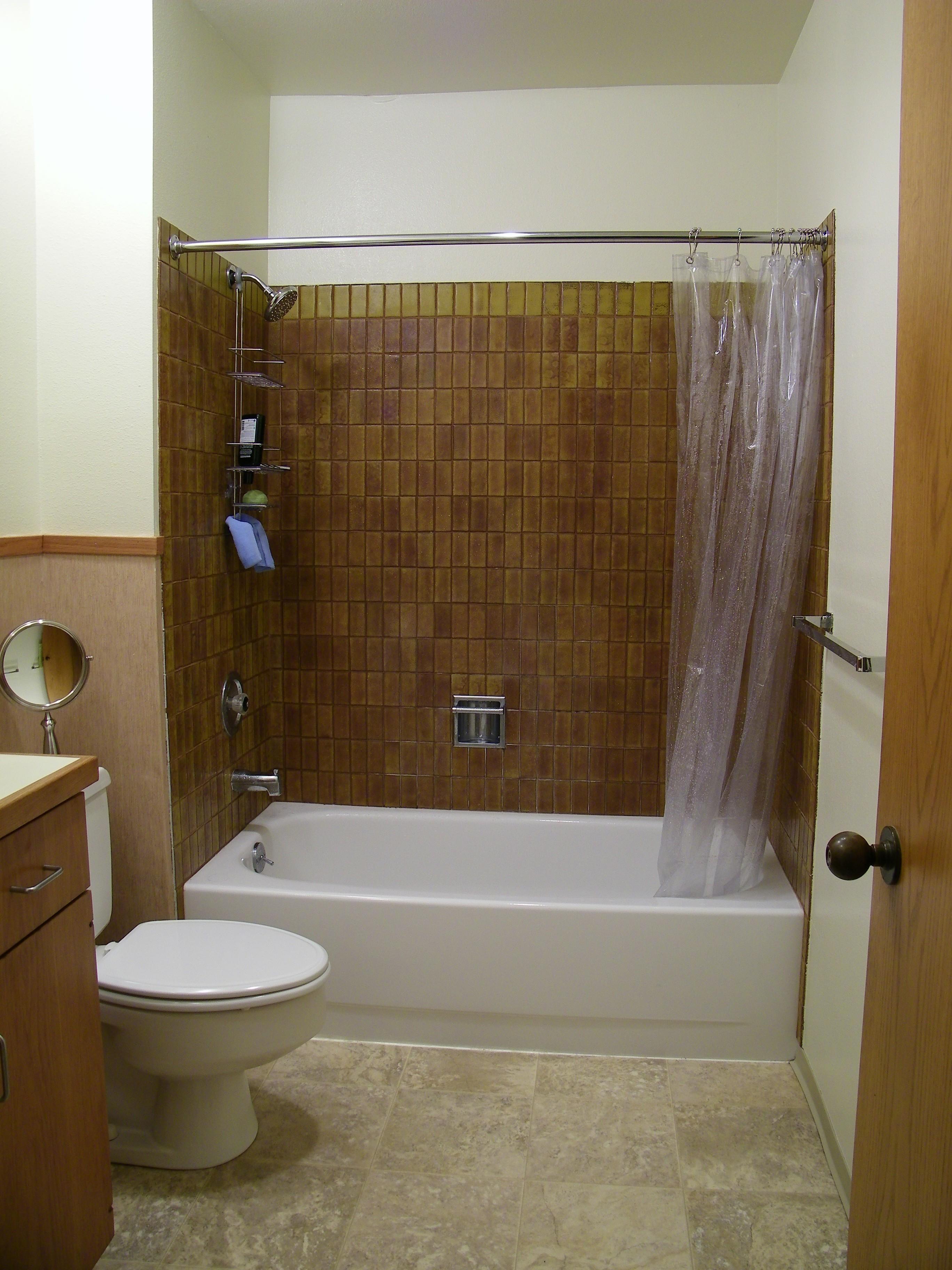 Before Remodel in Bathroom