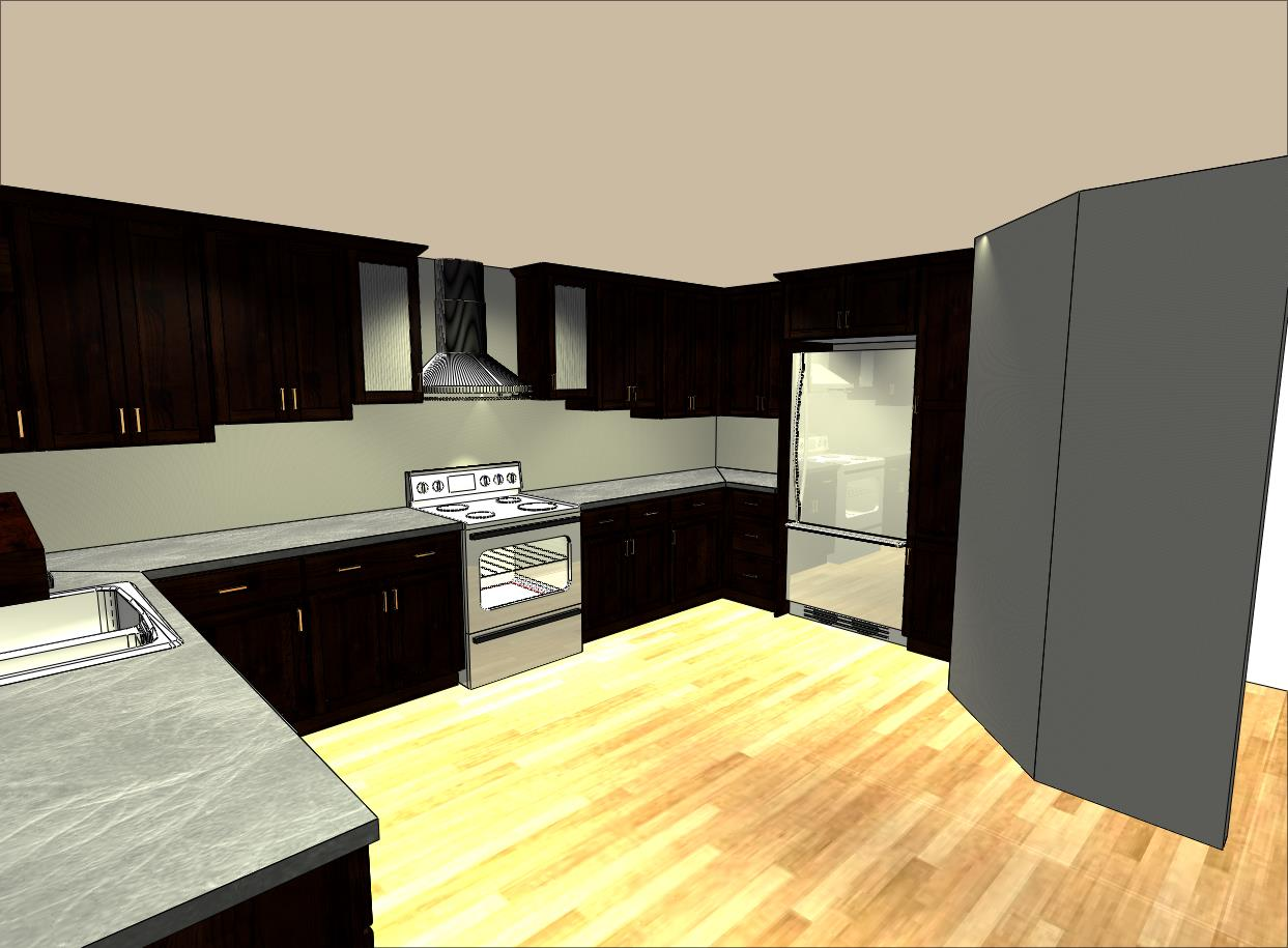 Eugene Kitchen Right View