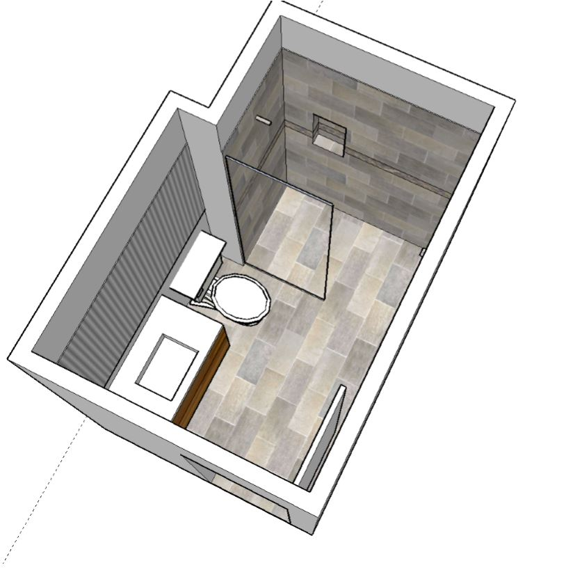 Bathroom Design Top View